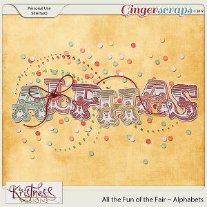All the Fun of the Fair Alphabets
