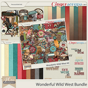 Wonderful Wild West Bundle by JoCee Designs