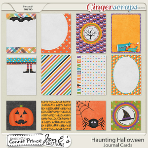 Retiring Soon - Haunting Halloween - Journal Cards