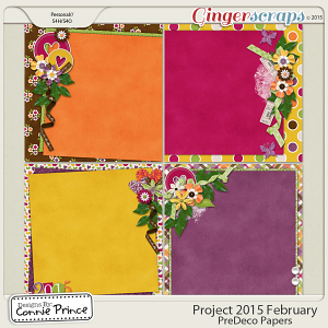 Project 2015 February - PreDeco Papers