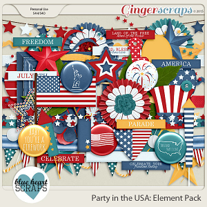 Party in the USA Element Pack