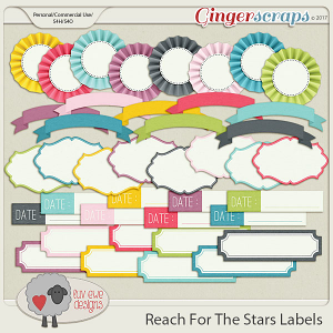 Reach For The Stars Labels