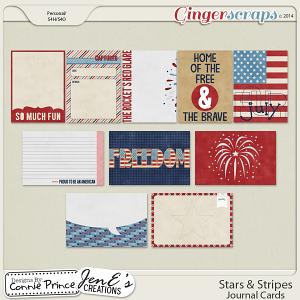 Stars & Stripes - Journal Cards
