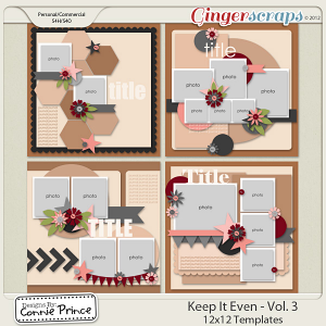 Retiring Soon - Keep It Even Vol 3 - 12x12 Temps (CU Ok)