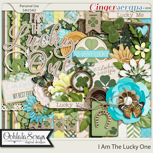 I Am The Lucky One Digital Scrapbook Kit