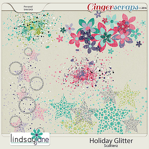 Holiday Glitter Scatterz by Lindsay Jane