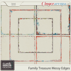 Family Treasure Messy Edges by Aimee Harrison