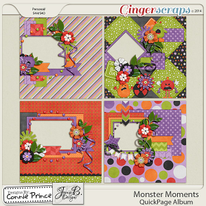 Monster Moments - QuickPage Album