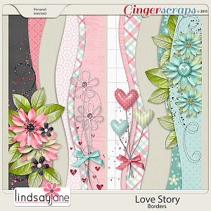 Love Story Borders by Lindsay Jane