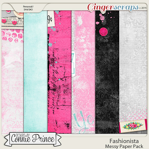 Fashionista - Messy Paper Pack