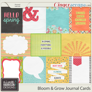 Bloom & Grow Journal Cards by Aimee Harrison