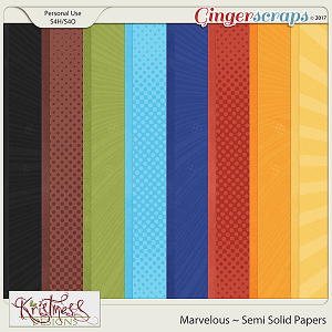 Marvelous Semi-Solid Papers