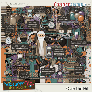 Over the Hill by BoomersGirl Designs