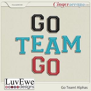 Go Team! Alphas
