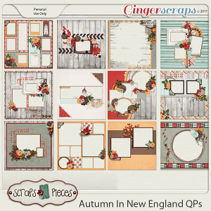 Autumn In New England Quick Pages
