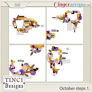 October steps 1.