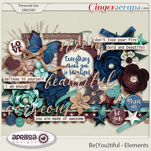 Be{You}Tiful - Elements by Aprilisa Designs