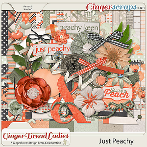 GingerBread Ladies Collab: Just Peachy