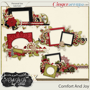 Comfort And Joy Border Frames
