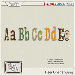 Deer Opener {alpha} by Little Rad Trio