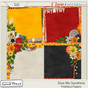 Retiring Soon - Give Me Sunshine - PreDeco Papers