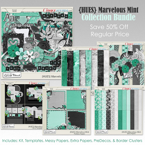 {HUES} Marvelous Mint - Bundle