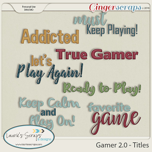 Gamer 2.0 - Titles