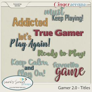 Gamer 2.0 - Titles