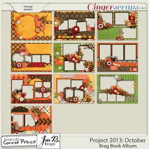 Retiring Soon - Project 2013:  October - Brag Book Album