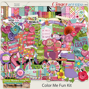 Color Me Fun Kit by Clever Monkey Graphics