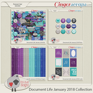 Document Life January 2018 Collection by Luv Ewe Designs
