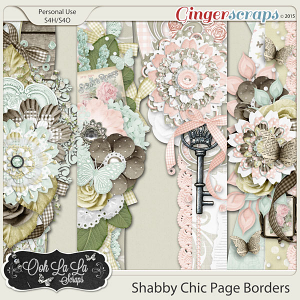 Shabby Chic Page Borders