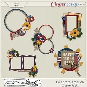 Retiring Soon - Celebrate America - Cluster Pack