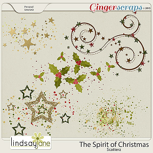 The Spirit of Christmas Scatterz by Lindsay Jane