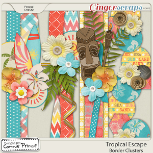 Retiring Soon - Tropical Escape - Border Clusters
