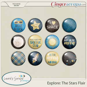 Explore: The Stars Flairs