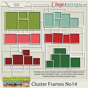 Cluster Frames No14 by Clever Monkey Graphics