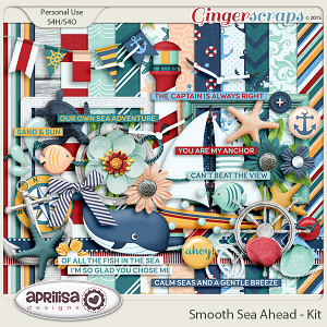 Smooth Sea Ahead - Kit by Aprilisa Designs