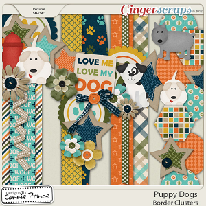 Puppy Dogs - Border Clusters