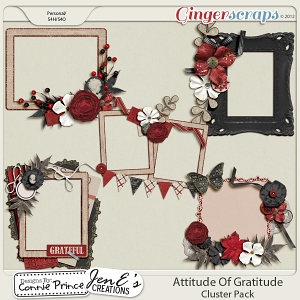 Retiring Soon - Attitude Of Gratitude - Cluster Pack