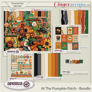 At The Pumpkin Patch - Bundle by Aprilisa Designs