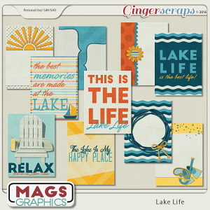 Lake Life JOURNAL CARDS 2