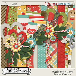 Made With Love - Border Clusters