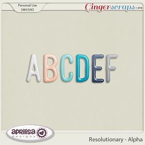 Resolutionary - Alpha by Aprilisa Designs