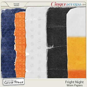 Fright Night - Worn Paper Pack