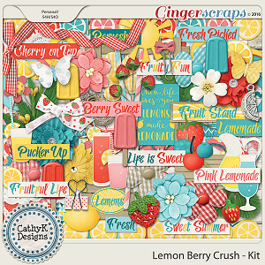 Lemon Berry Crush - Kit