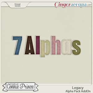 Legacy - Alpha Pack AddOn