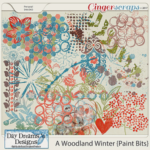 A Woodland Winter {Paint} by Day Dreams 'n Designs