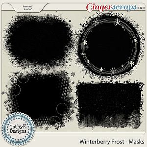 Winterberry Frost - Masks