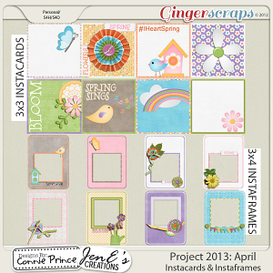 Project 2013: April - IstaCards & Frames